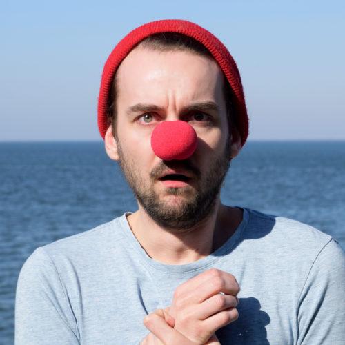 14 ängstlicher Clown
